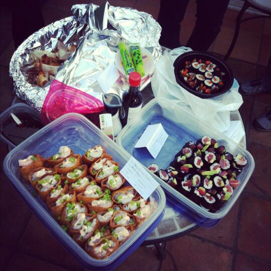 Sushi for the potluck