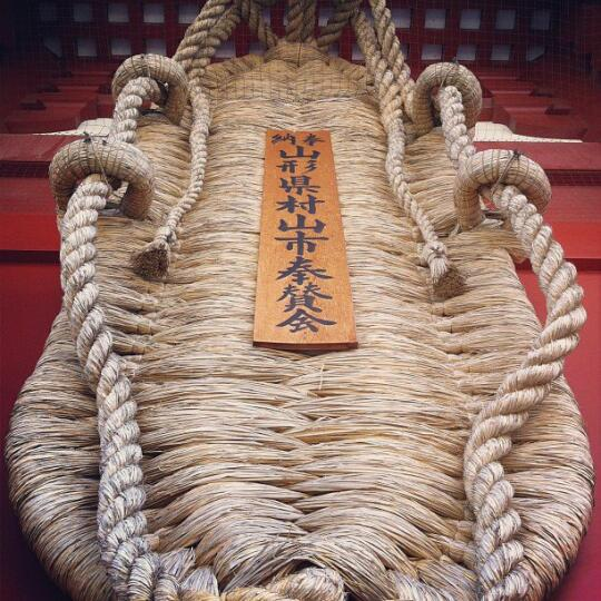 Rope art at the temple