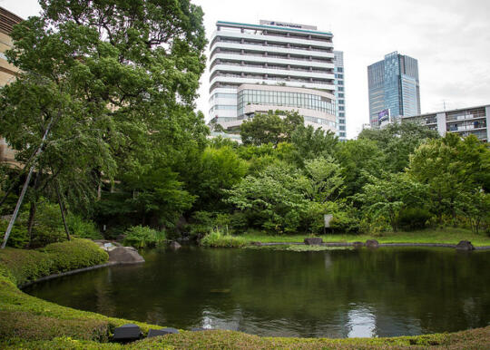 A small park in Roppongi Hills