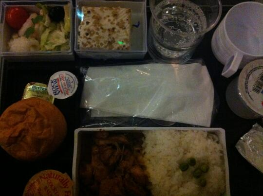 Airplane curry