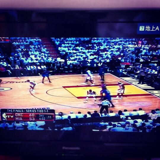 NBA on TV in Japan!