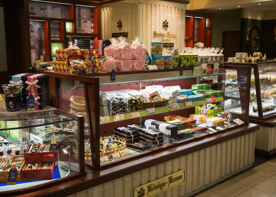 Confectionary shop