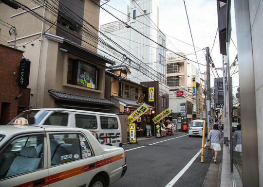 Street in the Gion area
