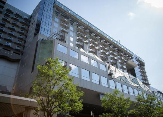 A building near Kyoto Station