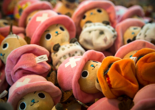 Lots of Chopper dolls