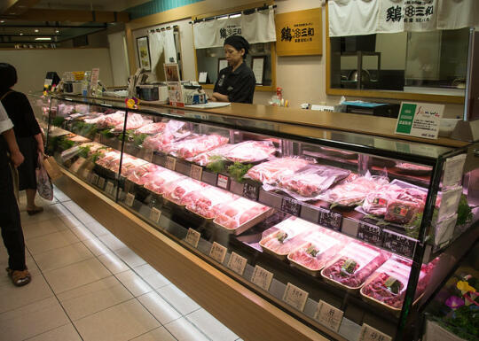 Meat shop