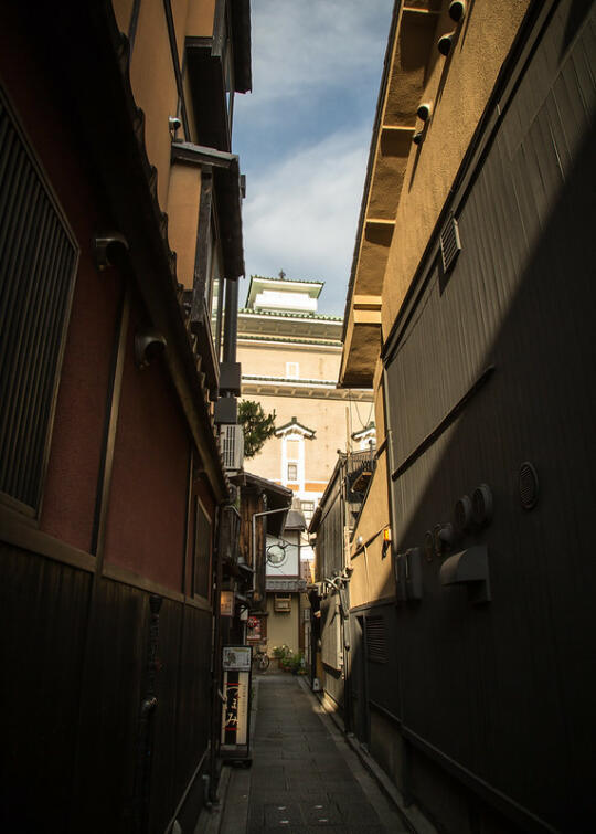Alley in Gion