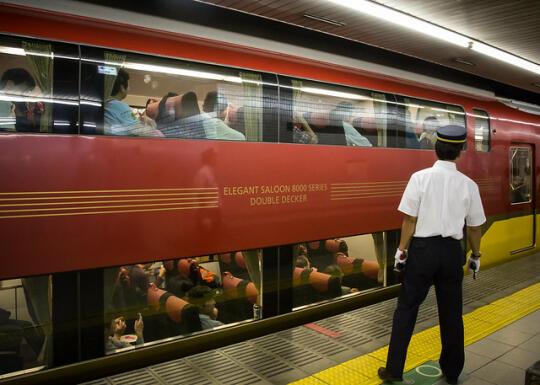 Double decker train