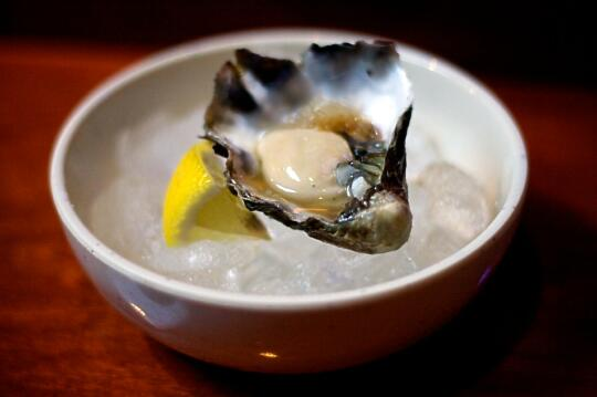 Kumamoto Oyster with Yuzu Ponzu