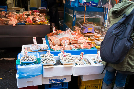 Wares at Tsukiji