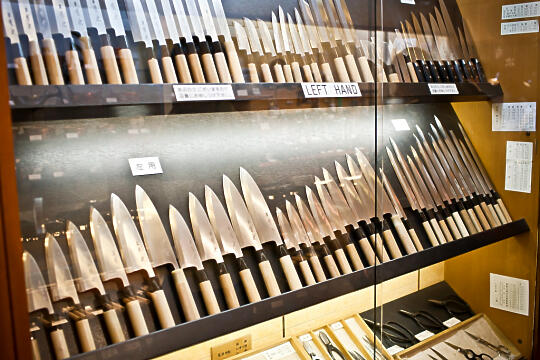 Lots of knives