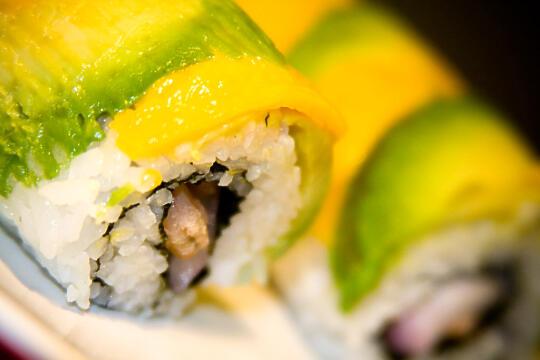 Mango Salsa Sushi