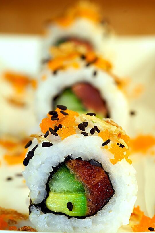 Red Dragon Roll - Sushi Day - Sushiday.com