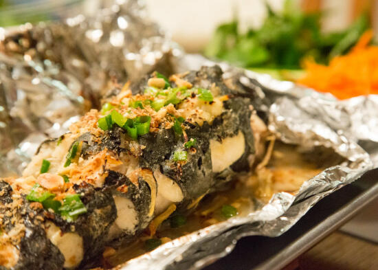 Vietnamese grilled catfish