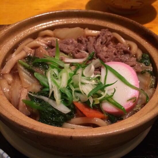 Sukiyaki udon