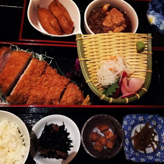 Tonkatsu gozen from Kagura