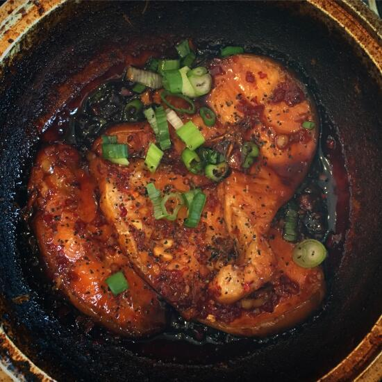 Caramelized clay pot catfish