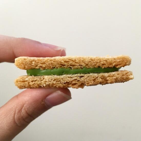 Green tea rusk cookie