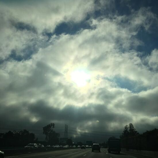Driving into the June gloom
