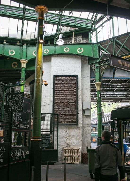A Schedule of the Rents in Borough Market
