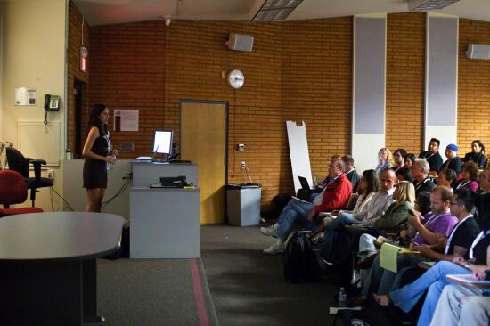 me, presenting