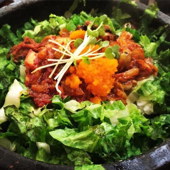 Kimchi Oyster Bibimbap