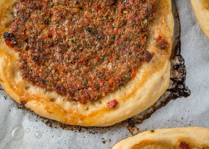 Lahmajoon (Armenian pizza)